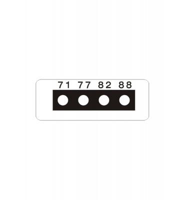Micro ruban 4 Températures SERIE 3
