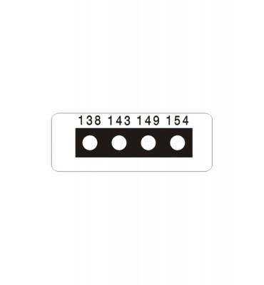 Micro ruban 4 Températures SERIE 6