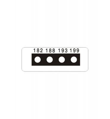 Micro ruban 4 Températures SERIE 8
