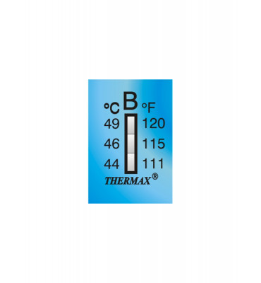 Ruban thermomètre Thermax 3 températures 03STHE  B