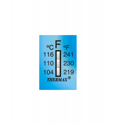 Ruban thermomètre Thermax 3 températures 03STHE  F