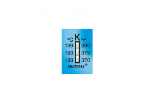 Ruban thermomètre Thermax 3 températures 03STHE  K