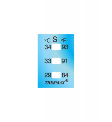 Ruban thermomètre Thermax 3 températures 03STHE  S