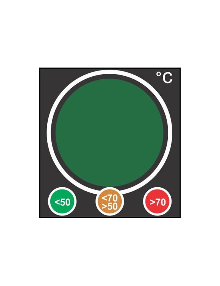 Indicateur type feu de signalisation vert