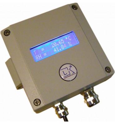 Thermohygromètre - Transmetteur humidité relative DKRF 470