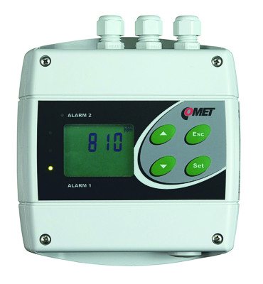 Transmetteur analogique de température et d'humidité relative COMET