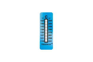 Ruban thermomètre 8 températures Thermax THC8