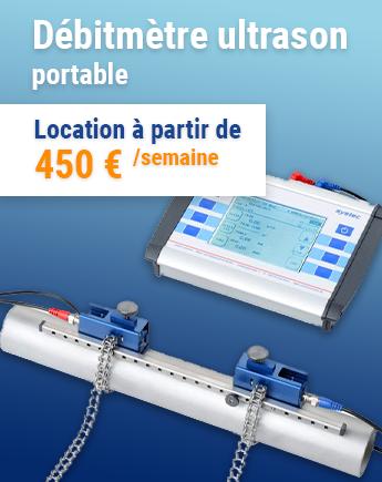 Débitmètres ultrason portable