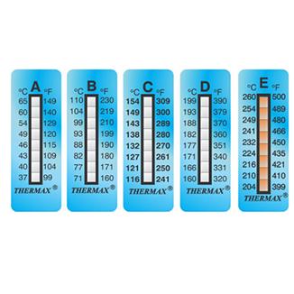Indicateurs Thermax 8 températures